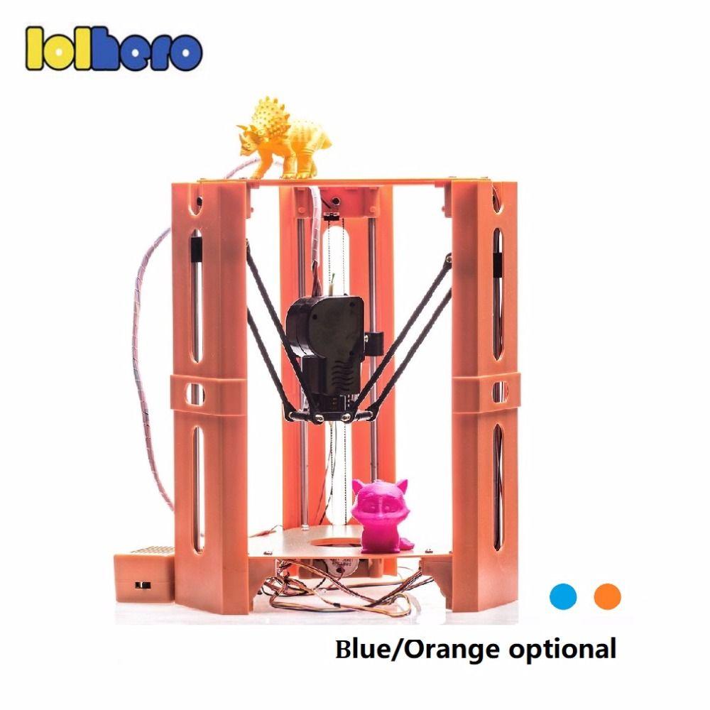 101HERO Protable 3D Printer Mini 1.75mm 0.4mm Nozzle Filament Metal Desk 3D Printer DIY Kit DV Versions Drop Shipping
