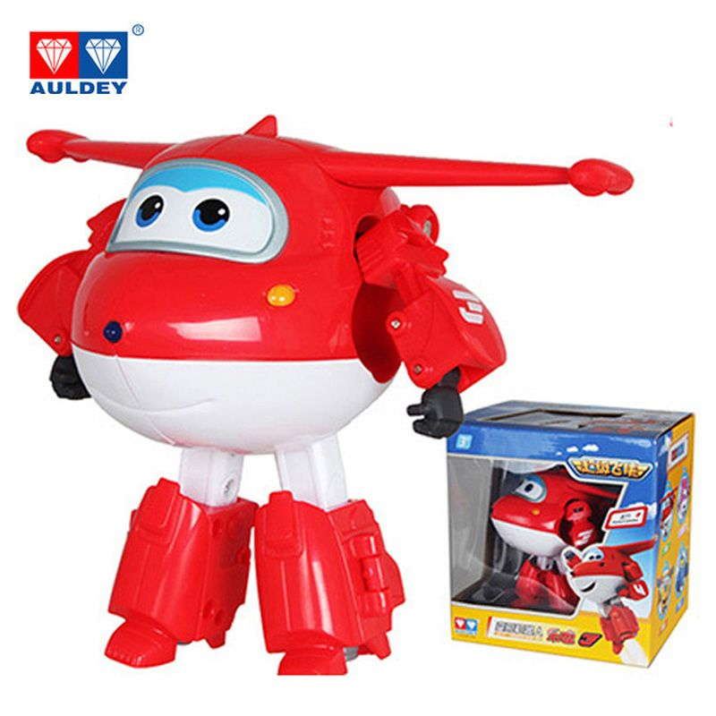 Big!!!15cm ABS Super Wings Deformation Airplane <font><b>Robot</b></font> Action Figures Super Wing Transformation toys for children gift Brinquedos