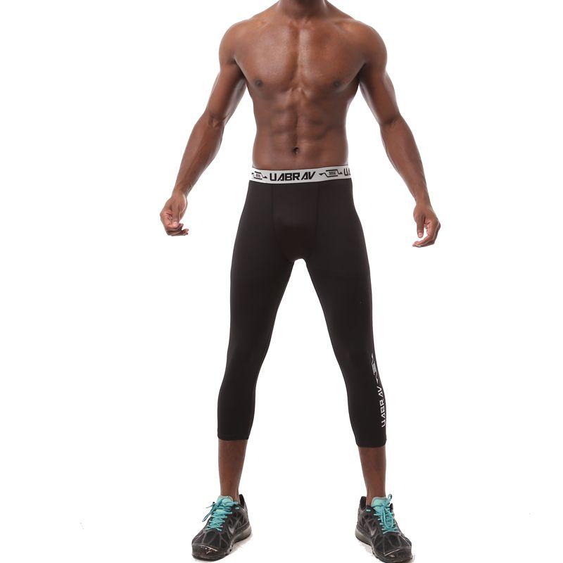 sport tight pant men pro basketball fitness training jogging leggings running compression pants fitness quick-drying Sweatpants