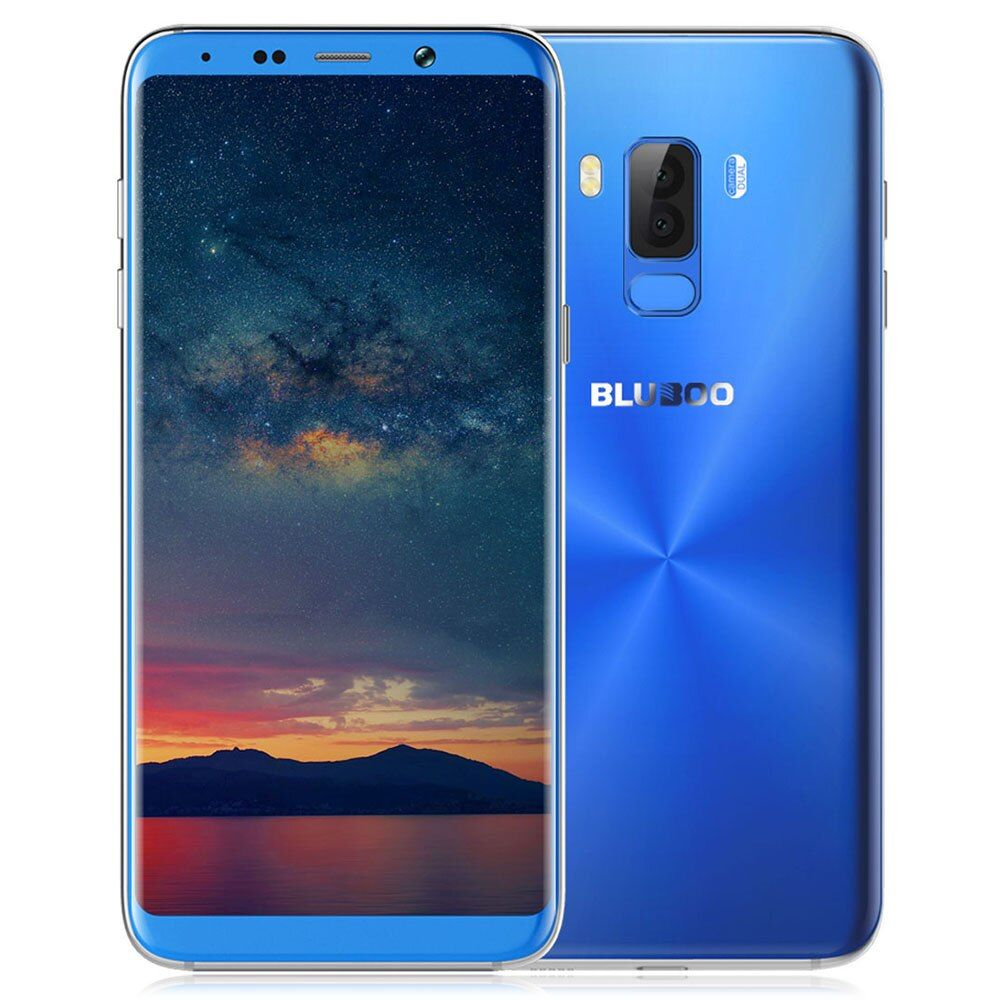 BLUBOO S8+ Plus 4G Phablet Smartphone 6.0Inch Android 7.0 MTK6750T OctaCore 1.5GHz 4GB RAM 64GB ROM Full Screen Dual Rear Camera