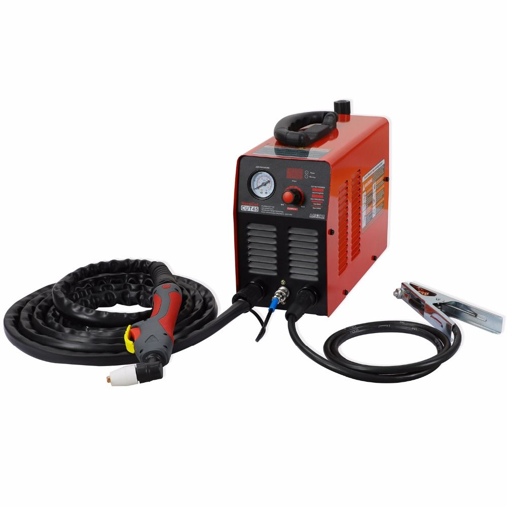 IGBT Plasma Cutter Cut45i 220V Arcsonic HeroCut Air Plasma cutting machine 10mm clean cutting video