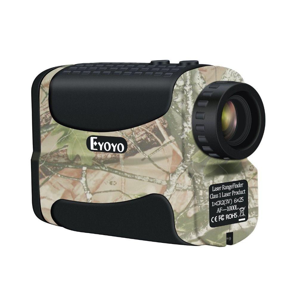 EYOYO 600 m Laser Range Finder 6x Monoculaire Télescope Multifonction Pour La Chasse Golf Distance Camouflage Télémètre
