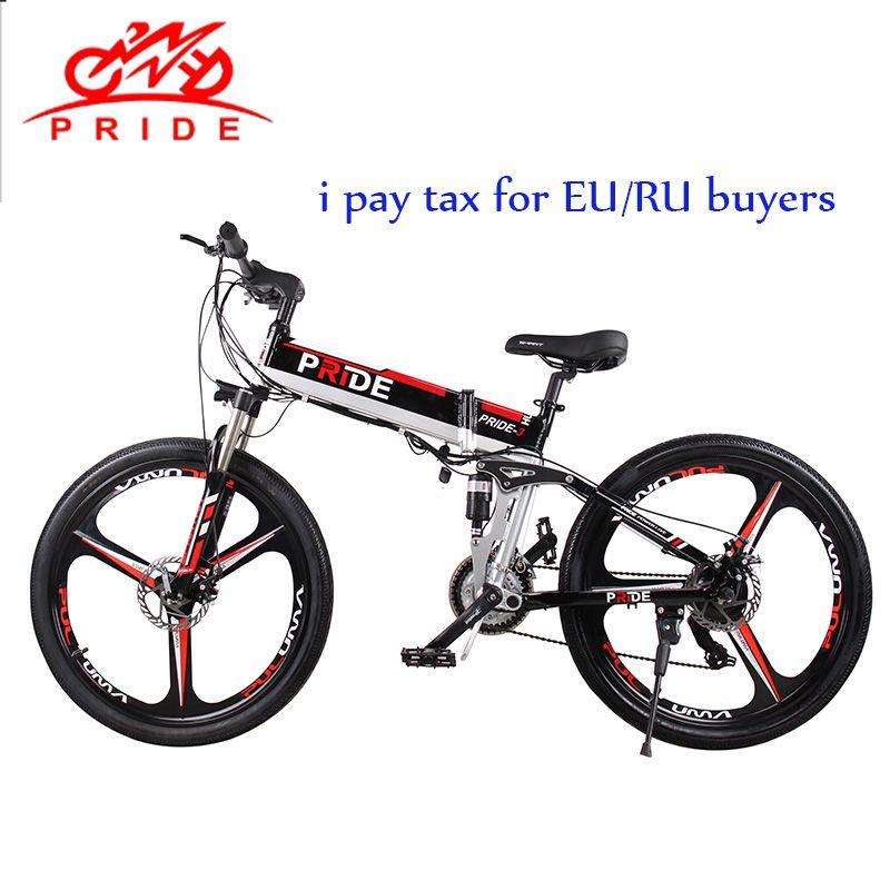 Elektrische bike 26 zoll Aluminium Klapp elektrische Fahrrad 500 W Leistungsstarke 48V12. 5A Lithium-Batterie e bike Schnee/Berg/stadt ebike