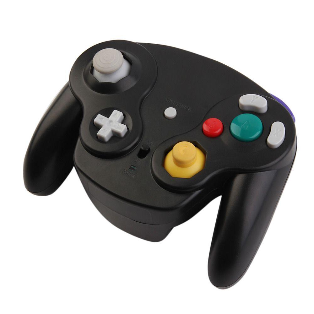 Draadloze Беспроводной Bluetooth, Wi-Fi 2.4 ГГц геймпад Портативный 10 м Игры Геймер контроллер Джойстик для Wii для Nintendo GameCube NGC