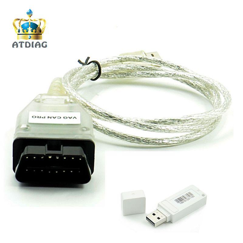 New VAG CAN PRO V5.5.1 CAN BUS+UDS+K-line OBD OBD2 Diagnostic Cable Support for VW for Audi for Seat VAG PRO S.W V5.5.1