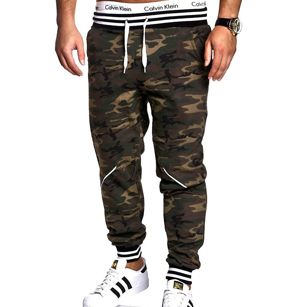 YUQIDONG Brand Men Pants Hip Hop Harem Joggers Pants 2017 Male Trousers Mens Joggers Camouflage Pants Sweatpants