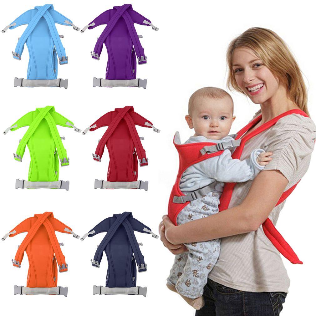 Infantil porta bebé recién nacido Cunas niños abrigo de la Honda bolsa Bebé Canguro nueva transpirable ajustable frente jinete mochila
