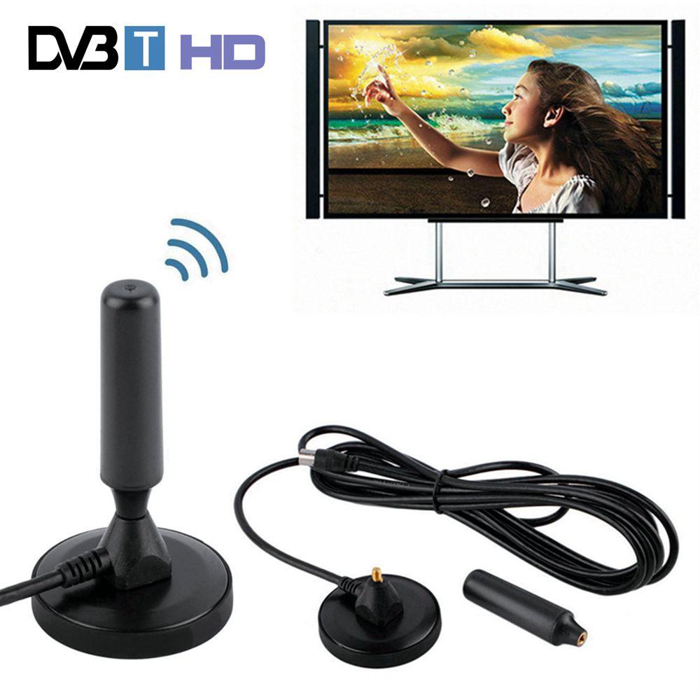 30 dBi Gain 75 ohm Numérique DVB-T Récepteur Antenne FM Tnt Aérienne Antena DVB T Coaxial Booster Câble Magnétique Base TV HDTV