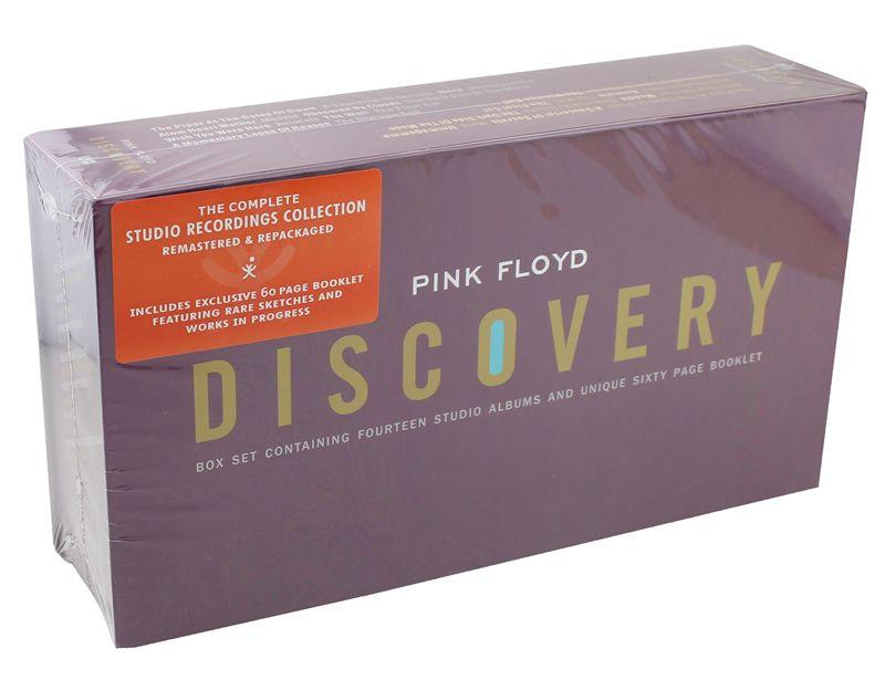Pink Floyd Discovery Boxset Полный Коллекция альбомов 16CD + книга Музыка CD Box Set Фирменная Новинка фабрика запечатанный