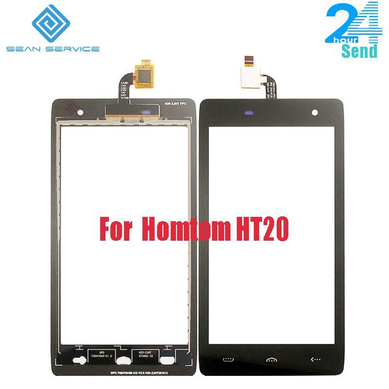 For Original 100% Guarantee HOMTOM HT20 Digitizer Touch Screen Glass Panel Touch Screen Digitizer For HT20+tools stock