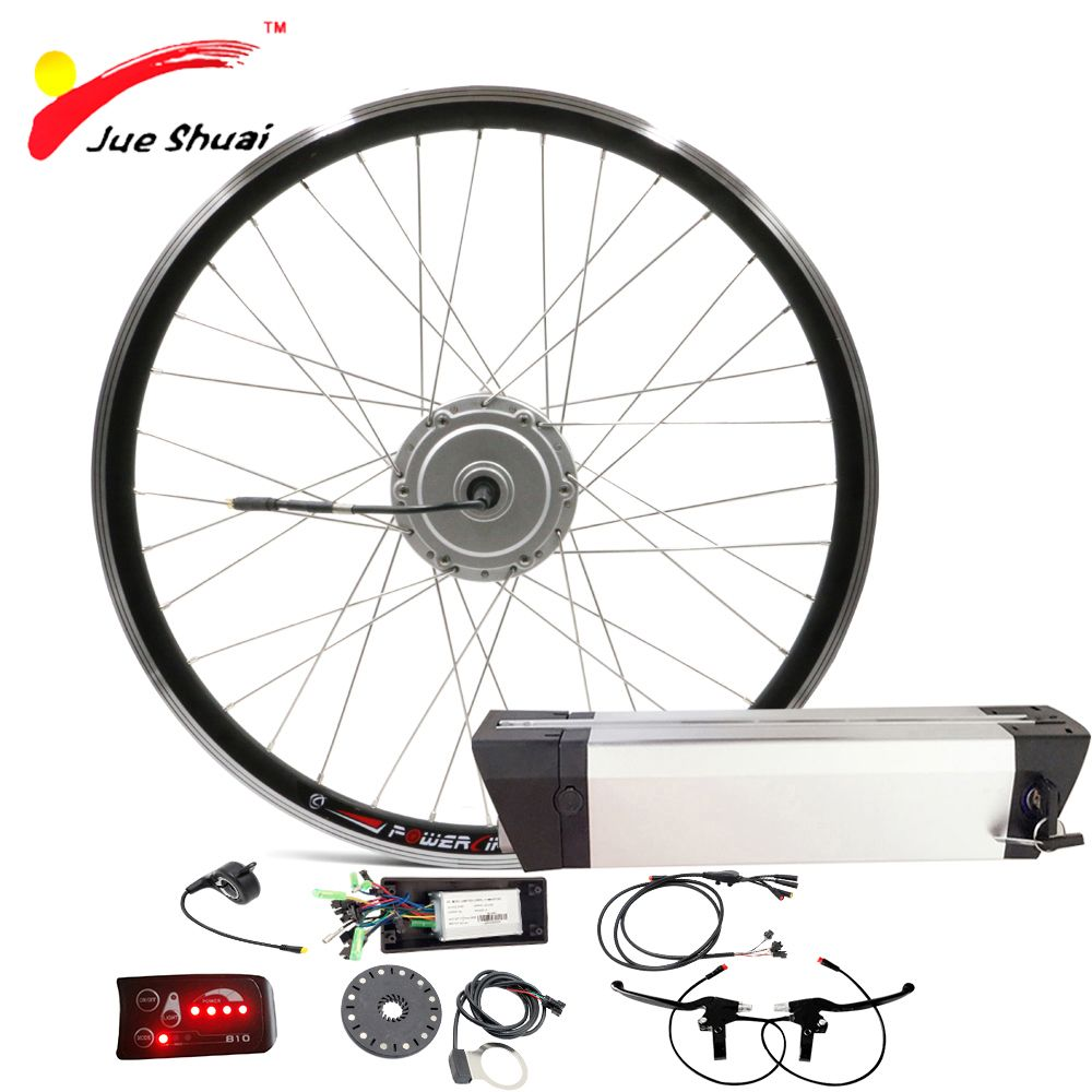 Bafang Elektro-fahrrad Motor 36 V 250 Watt Elektrische Fahrrad Umbausatz mit Batterie Vorne BAFANG Rad Motor für Ebike velo trousse