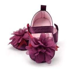 Flor de Primavera/otoño Bebé Zapatos mocasines recién nacidos botines para Recién Nacido 3 Color disponible 0-18 meses