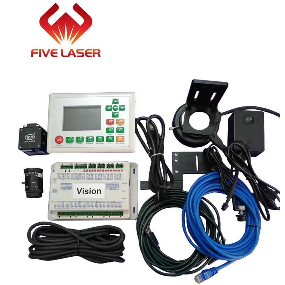 Vision laser schneiden controller system Ruida RDV6442G mit CCD kamera für automatische vision schneiden