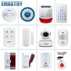 DIY complete door PIR smoke accessories for the our NEW W2B WIFI home security GSM alarm system Wireless Video IP camera monitor