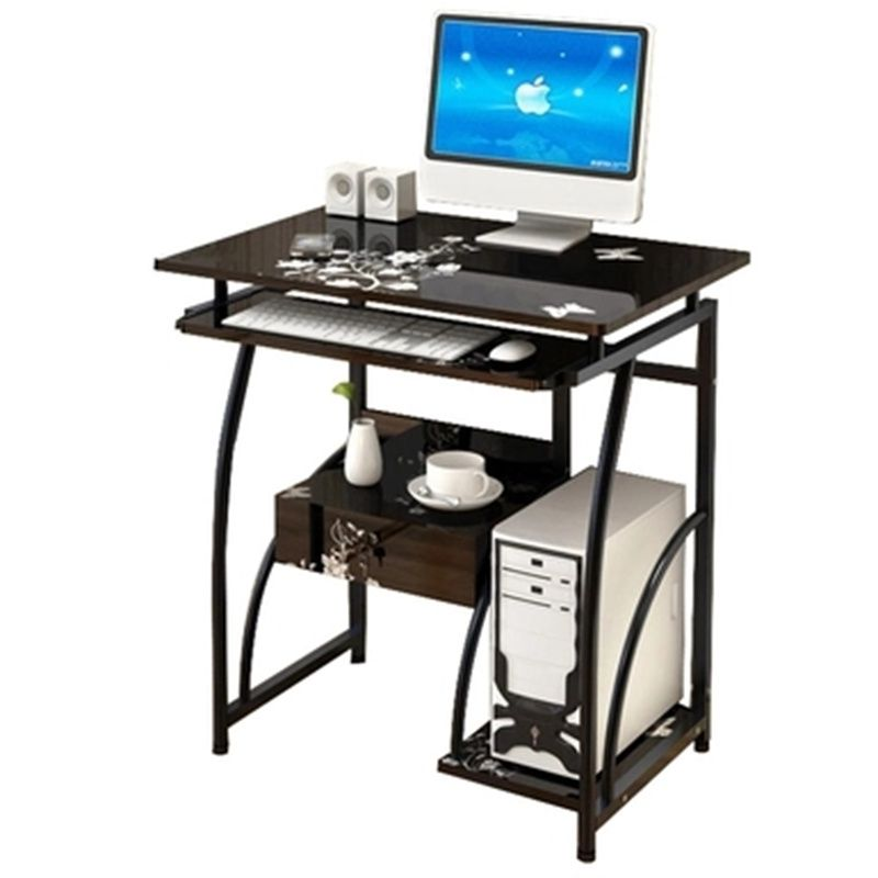 Environmental PC computer desk modern household desktop/notebook computer desk bookcase table with drawers