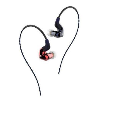 FORREST FLC8S Earphones HiFi Triple-Driver Hybrid 2BA+Dynamic In-Ear Stereo DJ Studio Monitor Earbuds Earphones