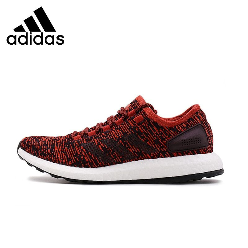 ADIDAS Pure Boost Mens Running Shoes Mesh Breathable Stability Support Sports Sneakers For Men Shoes#S81997 S81995