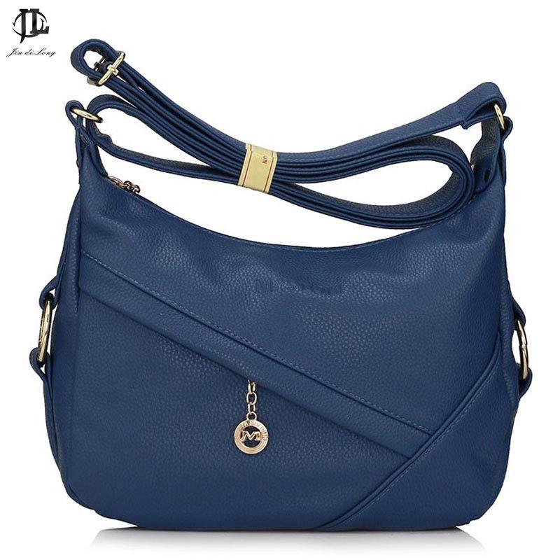 Brand Bag Black Grey Khaki Blue Burgundy Brown Business Women Messenger Bags Front Zipper Pocket Work OL Bolsas Femininas