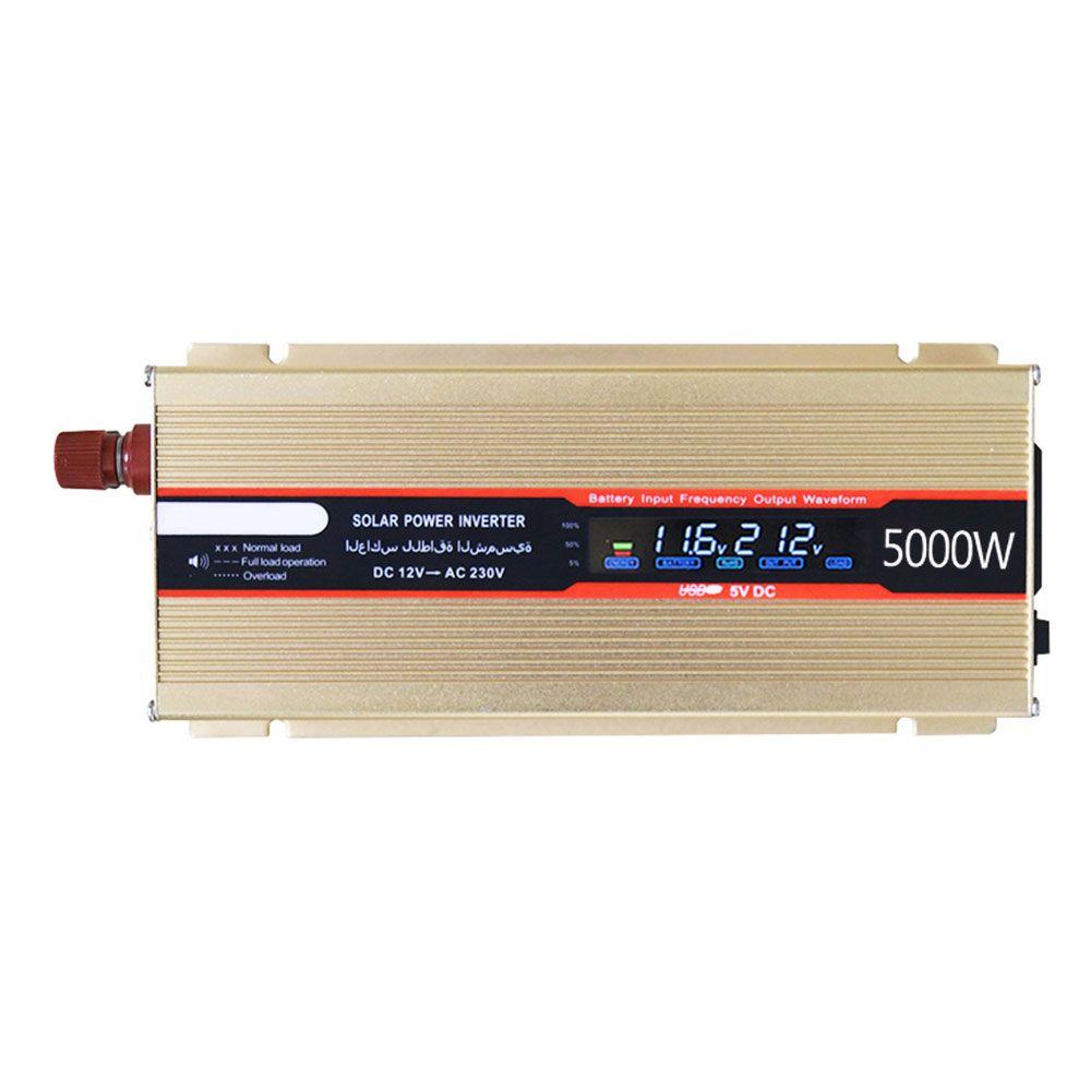 5000W Car Inverter Converter DC 12V 220V Power Inverter Charger Converter Transformer <font><b>Automobiles</b></font> Universal Vehicle Power Switch