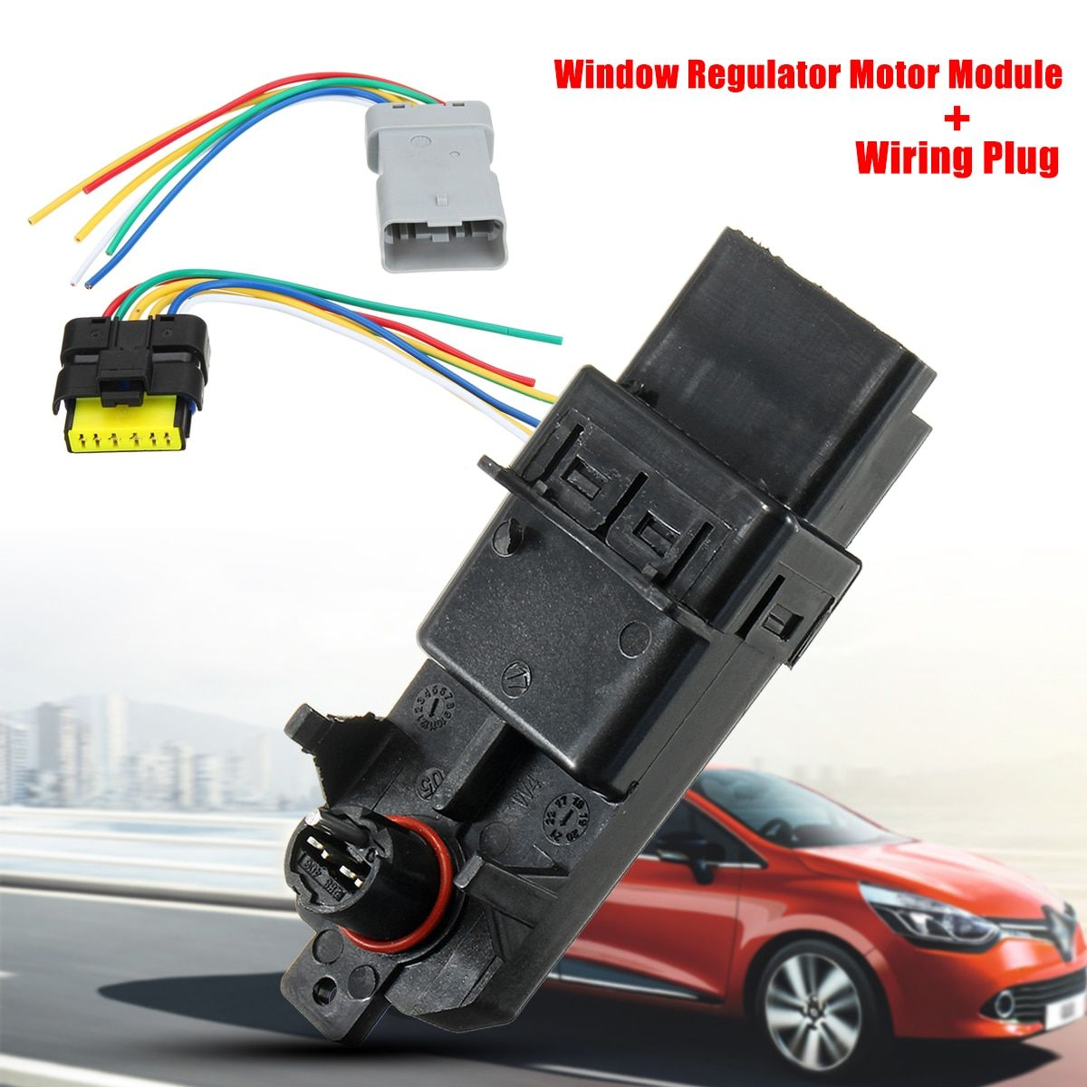 Auto Elektrische Fensterheber Regler Modul Regler Verdrahtung Stecker Harness für Renault Clio/Espace/Grand Scenic/Megane /Scenic