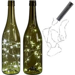 LumiParty battery power Warm white Bottle Lights LED Cork Shape String Lights for Bistro Wine Bottle Starry Bar Party Valentines