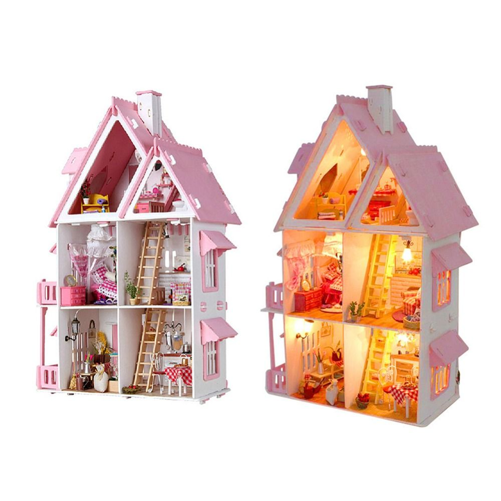 DIY Doll House Cabin Sunshine Alice Without Dust Cover
