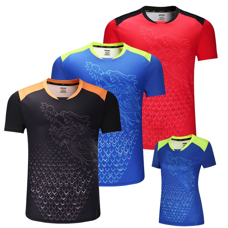 Neue CHINA Dragon tischtennis shirts Männer, ping pong shirts, Chinesische tischtennis trikots, tischtennis kleidung sport Shirts