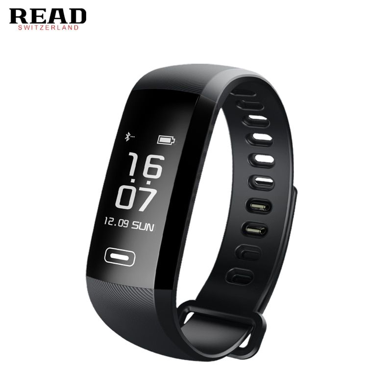 READ Original Tezer R5 Max smart wristband Heart rate Blood pressure sport smart wrist band pedometer smart watch for iOS Androi