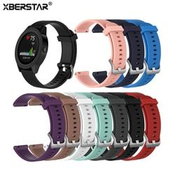 Pengganti untuk Jam Tangan Tali untuk Garmin Vivoactive 3 Gelang untuk Garmin Vivomove Jam Silikon Wrist Band Gelang Tali