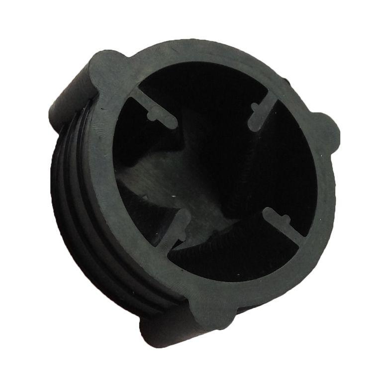 Gran Capacidad Comercial Licuadora Base De Caucho Negro de Plástico Botón