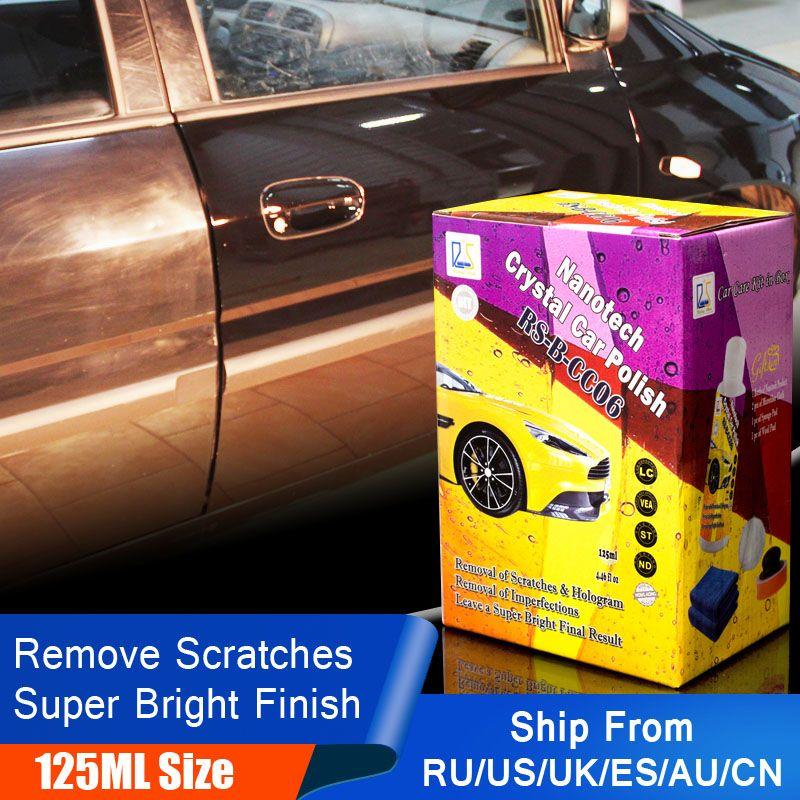 Étoile montante RS-B-CC06 Voiture Polissage Cire à Enlever Les Rayures Automobile Soins Détaillant Mastic Cire Cristal De Voiture Polonais 125 ml Kit