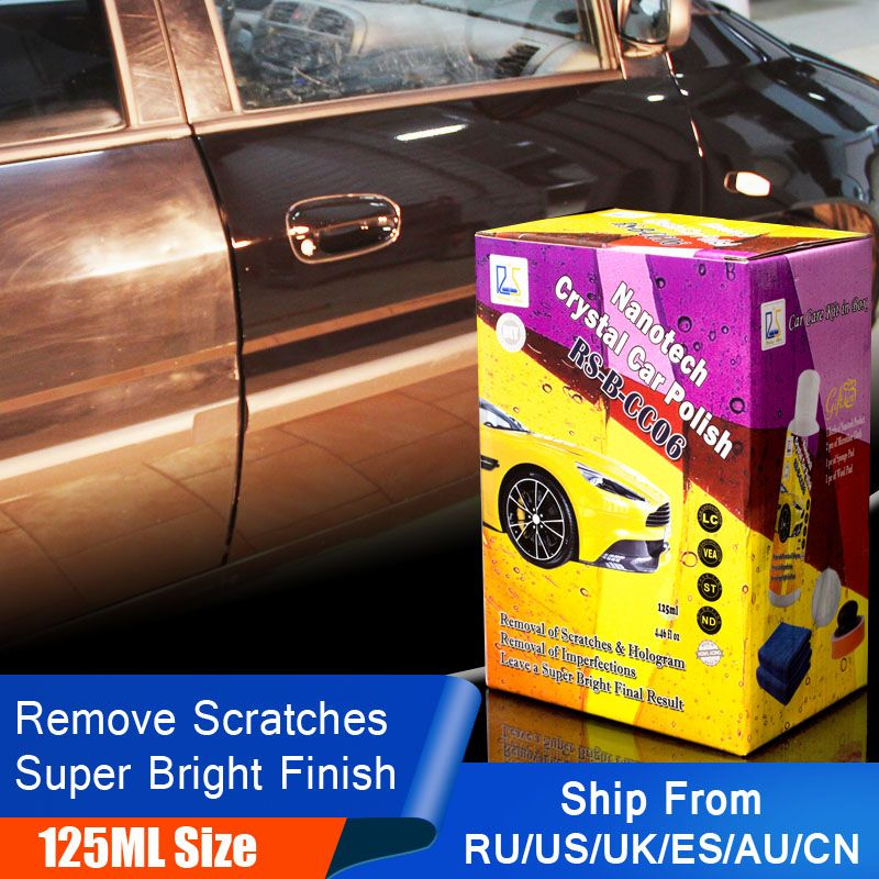 Rising Star RS-B-CC06 Car Polishing Wax to Remove Scratches Automotive Care Detailing Sealant Wax Crystal Car Polish 125ml Kit