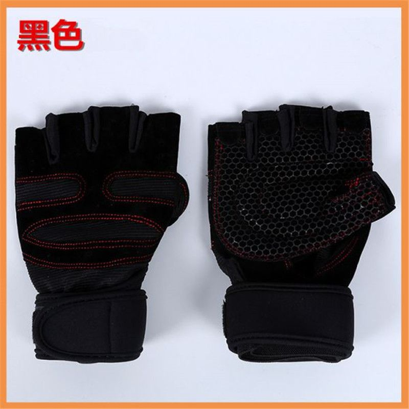 Sports Gym Gloves Half Finger Breathable Weightlifting Fitness Gloves Men Women Weight lifting Gym Gloves 3 Size