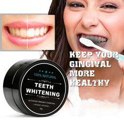 Dientes blanqueamiento polvo de bambú Oral cuidado de los dientes limpieza carbón activado polvo Dental Clareamento Dental