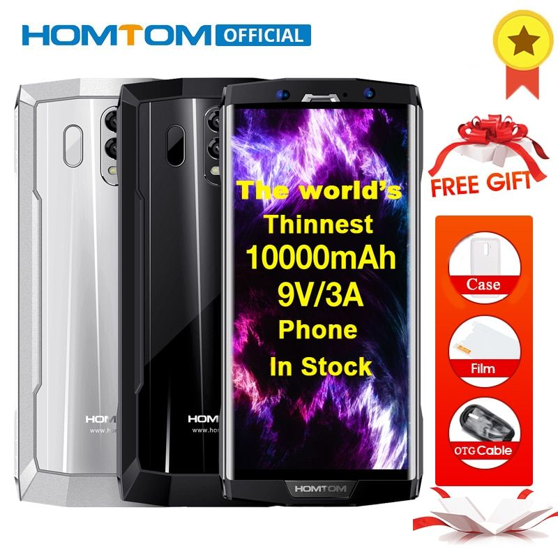 HOMTOM HT70 Octa Core Android 7.0 1000 mah Smartphone 6,0 zoll 18:9 Display 16MP + 5MP Dual Cams 4 gb RAM 64 gb ROM OTG Handy