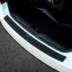 1 PC Mobil Styling Pintu Sill Penjaga Bumper Belakang Pelindung Strip untuk suzuki jimny vitara swift sx4 grand vitara 2016 mobil aksesoris
