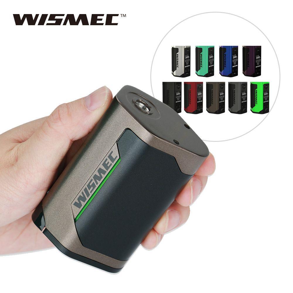 300 W D'origine WISMEC Reuleaux RX GEN3 TC Boîte MOD De Sortie Maximale 300 W No18650 Batterie Énorme Puissance E-Cig Vaporisateur Boîte Mod Vs Pico 25