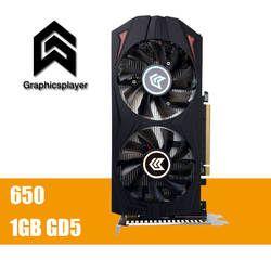 Оригинальный Графика карты GTX650 1 ГБ GDDR5 128bit PCI Express пласа-де-video Carte graphique видеокарта для Nvidia GTX VGA