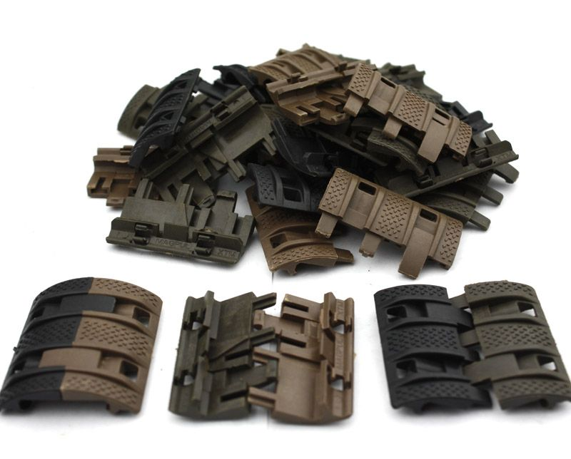 32 unids 1 Pack Tactical Airsoft panels Picatinny rail Handguard cover Hunting