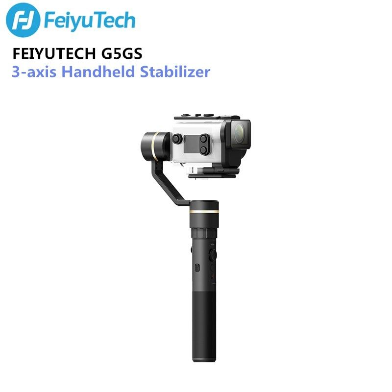 FeiyuTech Feiyu G5GS Gimbal 3-Axis Handheld Stabilizer for Sony AS50 AS50R Sony X3000 X3000R Camera Splash Proof for 130g-200g