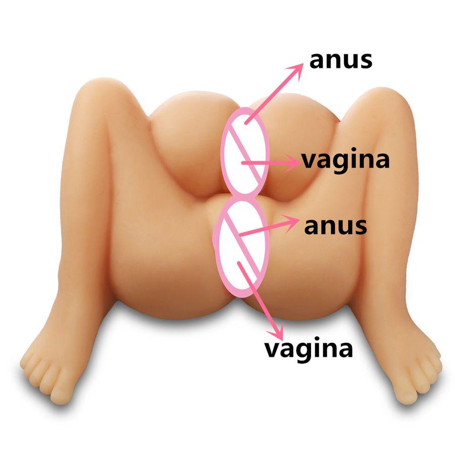4 löcher verwenden. 2 pussy/vagina 2 butt ass anus vollen silikon sex puppe, sex bilder, sex puppe für mann jungen mit doppel pussy