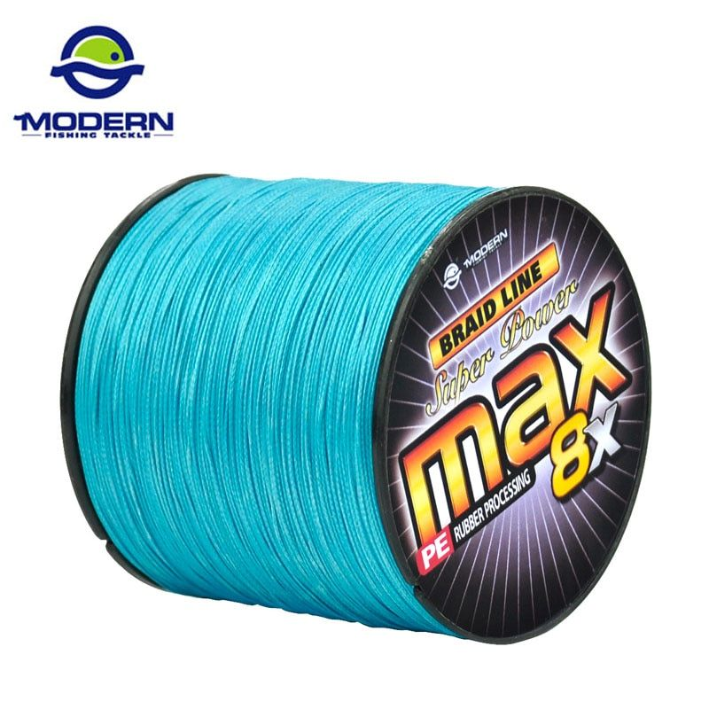 300M MODERN FISHING Brand MAX8X Japan multifilament PE braided fishing line 8 strands braided wires 20 30 40 50 60 80 100LB