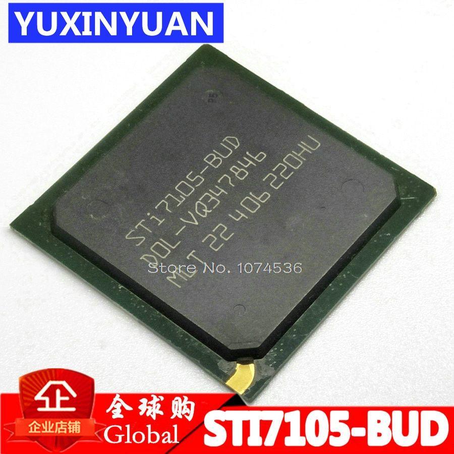 STI7105 STI7105-BUD STI7105BUD BGA Optique réseau set-top box puce 100% nouveau 1 pièces