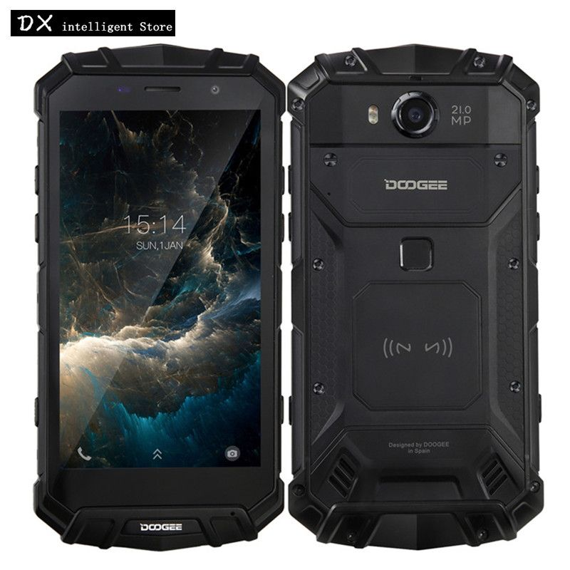 DOOGEE S60 6GB 64GB IP68 Waterproof Mobile Phone Helio P25 Octa Core 5.2
