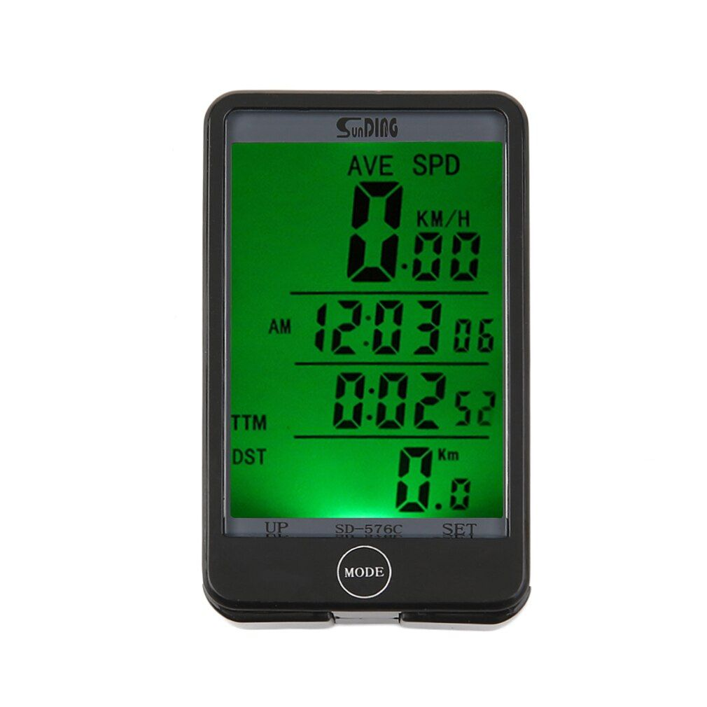 2017 New 29 Functions Water-resistant Sunding Wireless Cycling Bike Bicycle Computer Speedometer <font><b>Odometer</b></font> Stopwatch