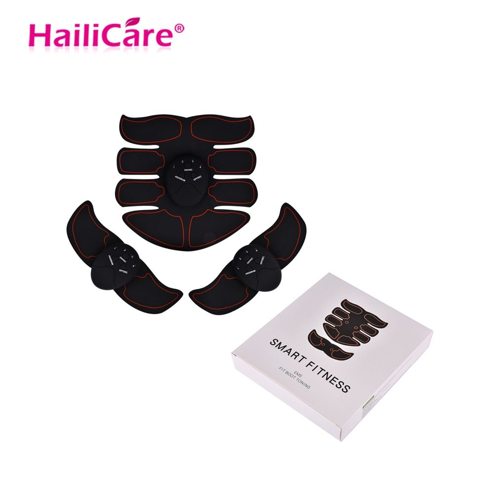 EMS Muscle Training Stimulator Device Body Slimming Massager Abdominal Wireless EMS Gym Professinal Home Fitness Beauty Gear