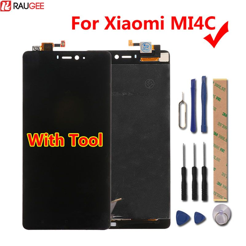 Xiaomi Mi4c LCD Display+Touch Screen New Digitizer Glass Panel Assembly Screen For Xiaomi Mi 4C