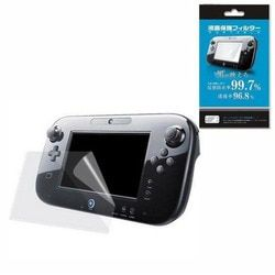 Clear Protective Film Joypad Surface Guard Cover for Nintendo Wii U Gamepad WiiU LCD Transparent Screen Protector