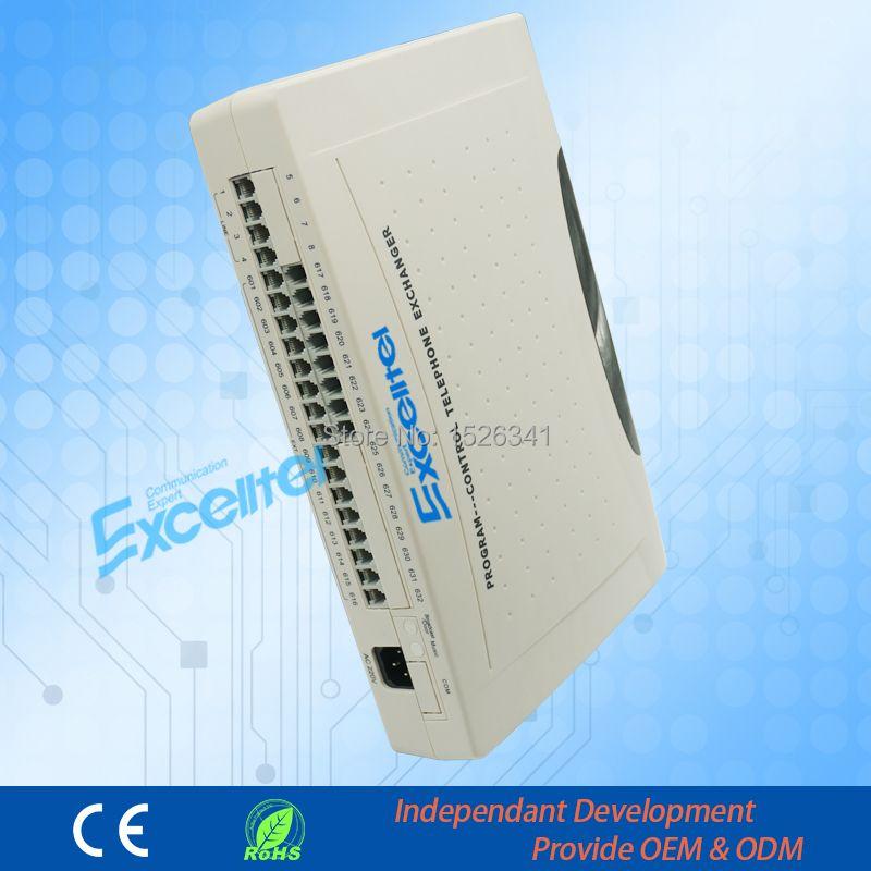 Téléphone Système/Mini PBX Système/CS + 424/4 PSTN ligne 24 extension avec transfert caller ID