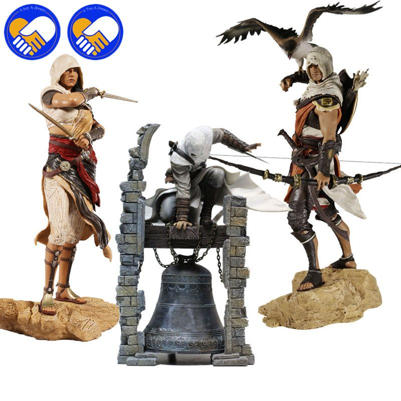 Assassin's Creeds Altair The Legendary Origins Buyck Aya Connor Cazador, Assassin PVC Statue Figure Model Doll Toy Collection